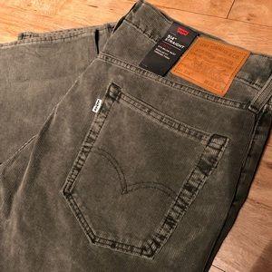 Levi's 514 Straight Fit Pant Corduroy